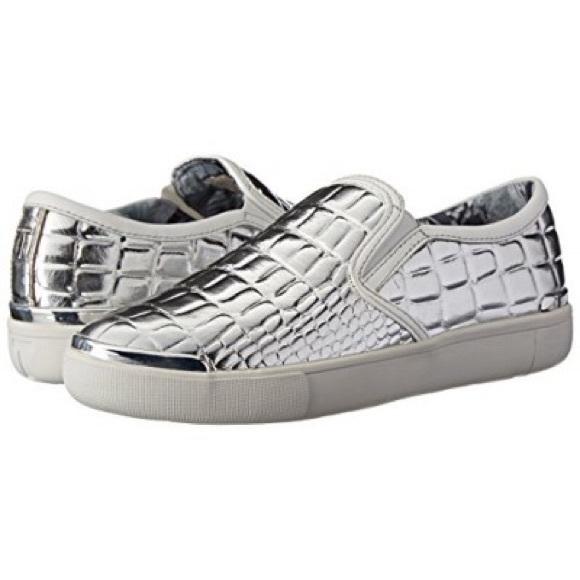 Ted Baker London Silver Sneakers Keziah